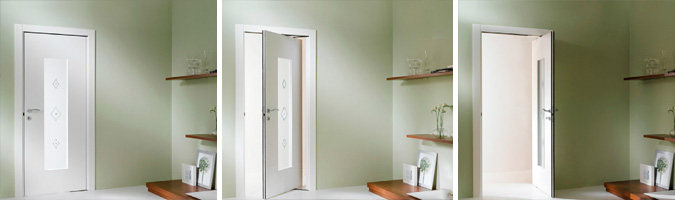 Porte per interno salvaspazio