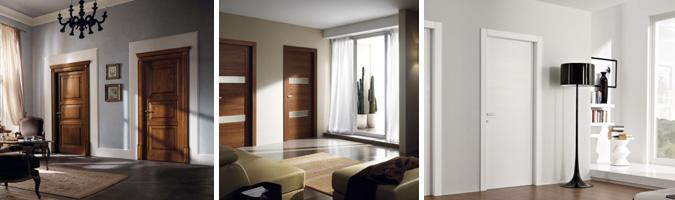 Le porte in legno