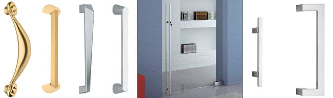 Maniglioni per porte e portoni d'ingresso