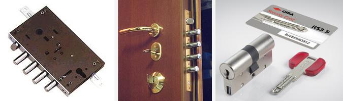 serrature per porte blindate e non