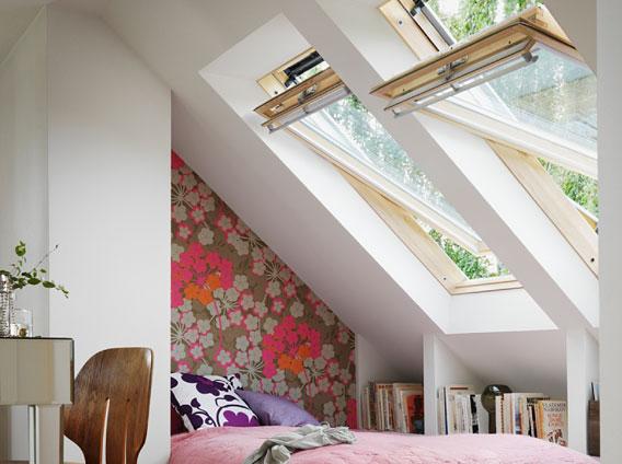 Finestra per mansarda e attico