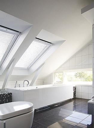 Finestre il bagno della mansarda