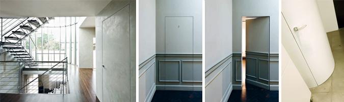 Scegliere le porte integrate a filo muro - Porte interne a filo muro ...