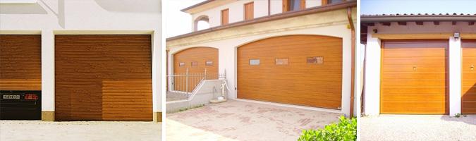 Porte per il garage