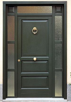 Le varie tipologie di porte adatte all 39 esterno - Portoncini blindati da esterno ...