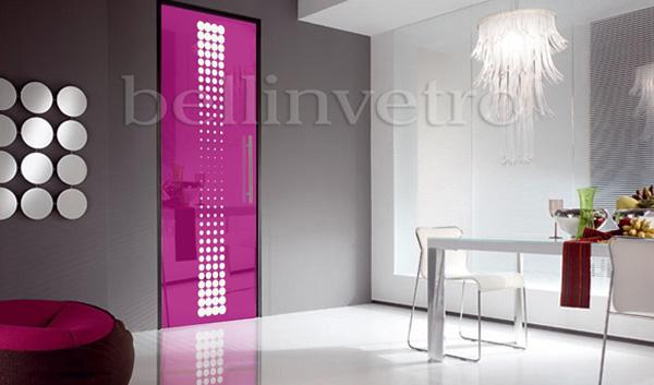 I vari stili di porte adatte all 39 esterno - Porte a soffietto colorate ...