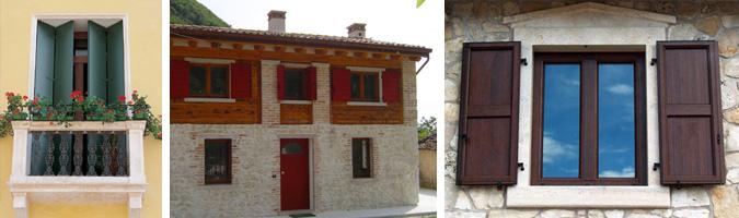 Infissi e serramenti il primo elemento estetico - Oscurare vetri casa ...