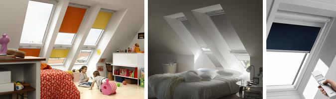 Tende oscuranti per la camera da letto e non solo, a chiusura elettrica o manuale.