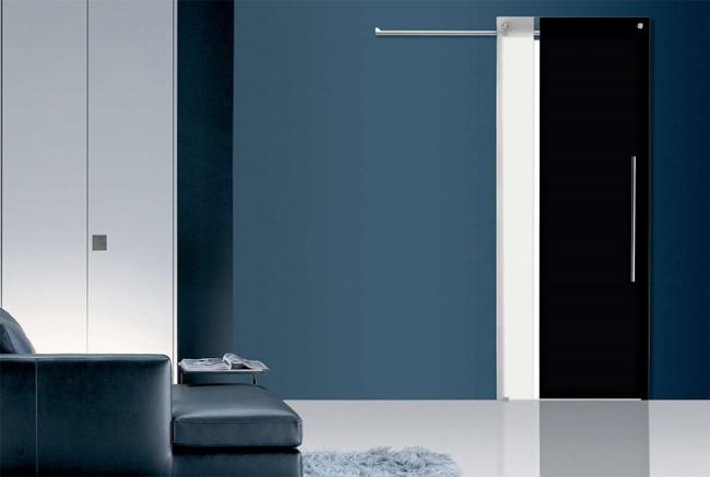 Porta in vetro Casali: scorrevole Bi-color