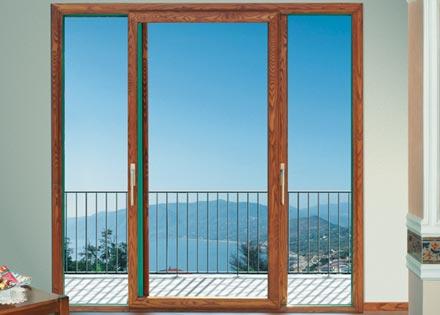 Come scegliere porte e finestre con telaio misto - Porta finestra in pianta ...