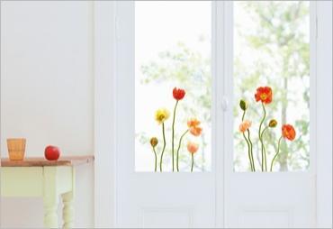Decorazioni per i vetri adesive - Decorazioni porte interne ...